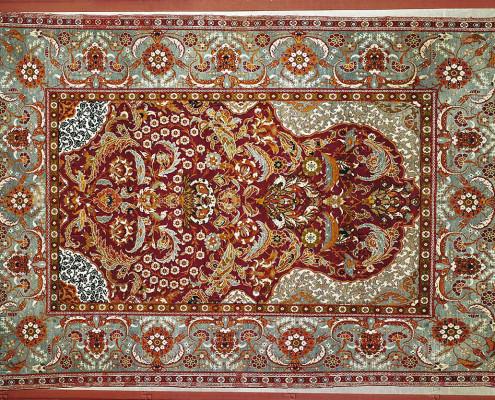 فرشهای صفویه موزه فرش ایران