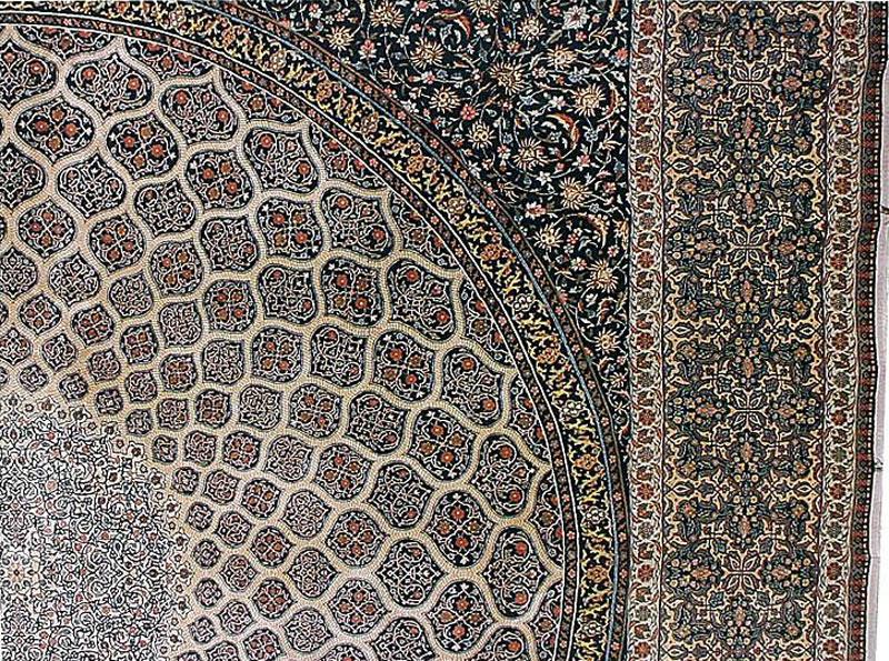 گنبد مینا (سقف کنبد مسجد شیخ لطف الله)