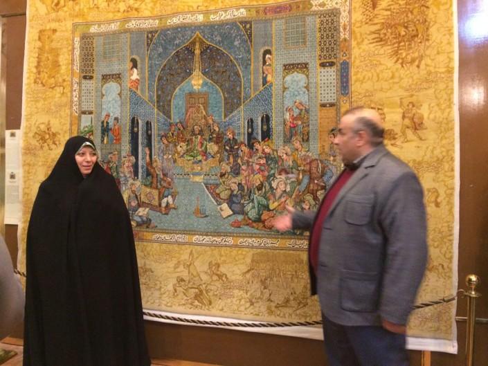 بازدید موزه رسام عربزاده