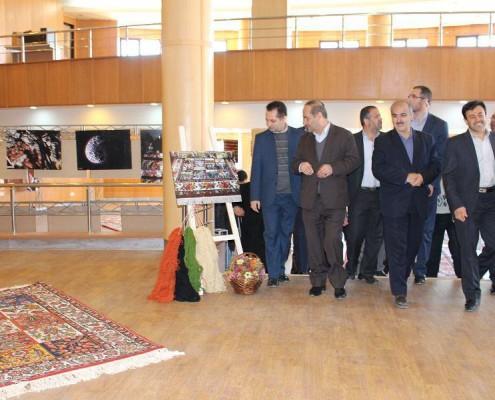 نمایشگاه عکس فرش در چهارمحال و بختیاری