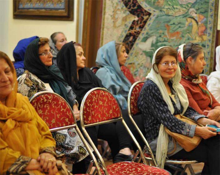 مراسم سپاس وبزرگداشت استاد رسام ارژنگی - بنیاد فرهنگی هنری فرش رسام عربزاده