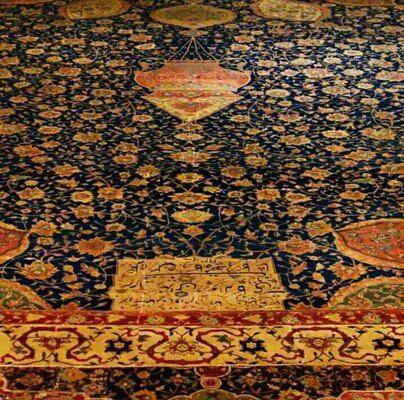 فرش موسوم به اردبیل، موزه ویکتوریا و آلبرت، لندن