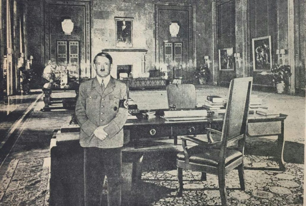 قالی اردبیل در منزل نخست وزیر انگلیس و آدولف هیتلر