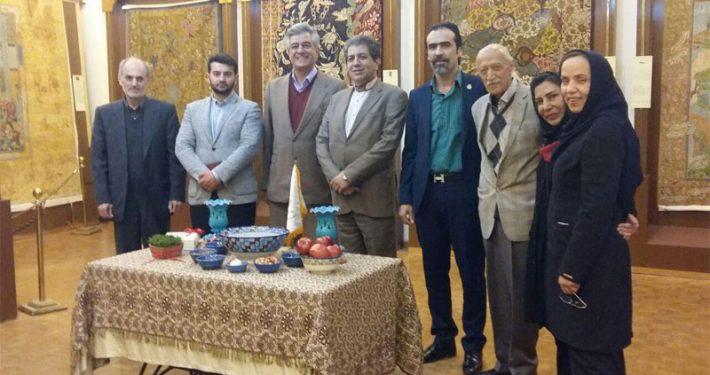 برگزاری مراسم نوروز در بنیاد فرش رسام عربزاده