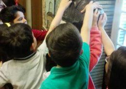 بازدید کودکان پیش دبستانی آفرینش همراه با قصه گویی