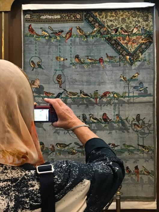 بازدید گردشگران نروژی از موزه رسام عربزاده